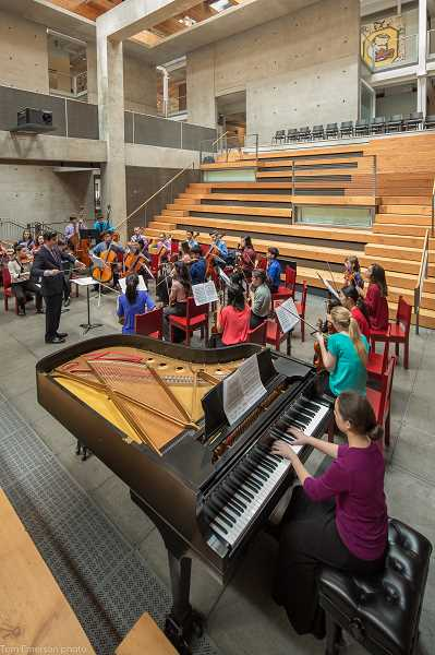 SUBMITTED PHOTO  - Portland Youth Philharmonics  chamber orchestra, Camerata PYP, will kick off its season with a concert Jan. 31 at Portland State Universitys Lincoln Hall.