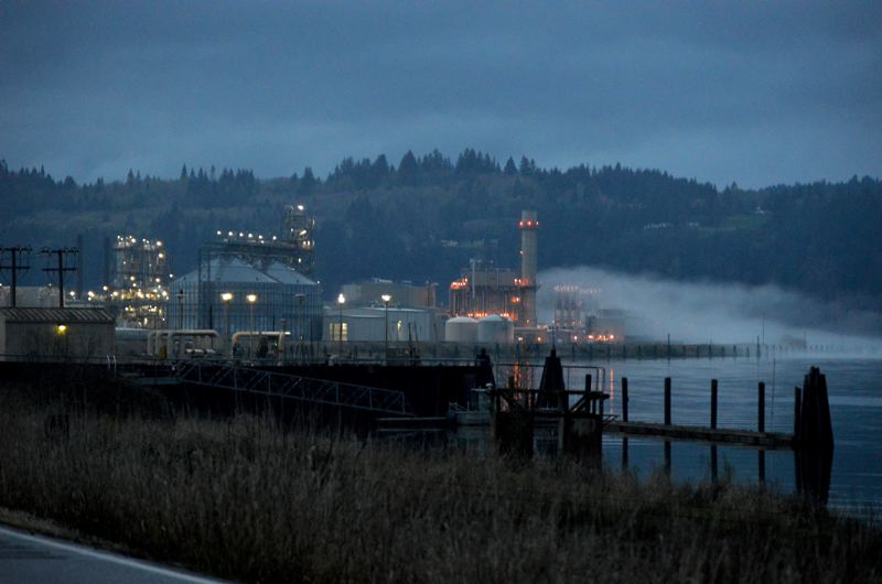 SPOTLIGHT FILE PHOTO - The Columbia Pacific Bio-Refinery at Port Westward in Clatskanie will transition to ethanol in the wake of a crashing crude oil market, company officials announced Thursday. The loss of crude oil resulted in 28 jobs being cut at the facility.