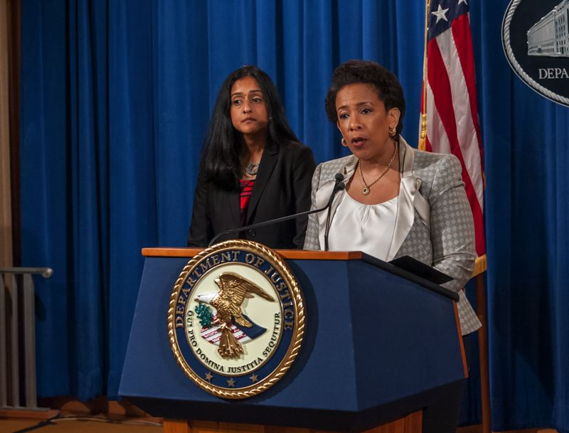 COURTESY OF THE U.S. DEPARTMENT OF JUSTICE - U.S. Attorney General Loretta Lynch will visit Portland in the next few months during her community policing tour.