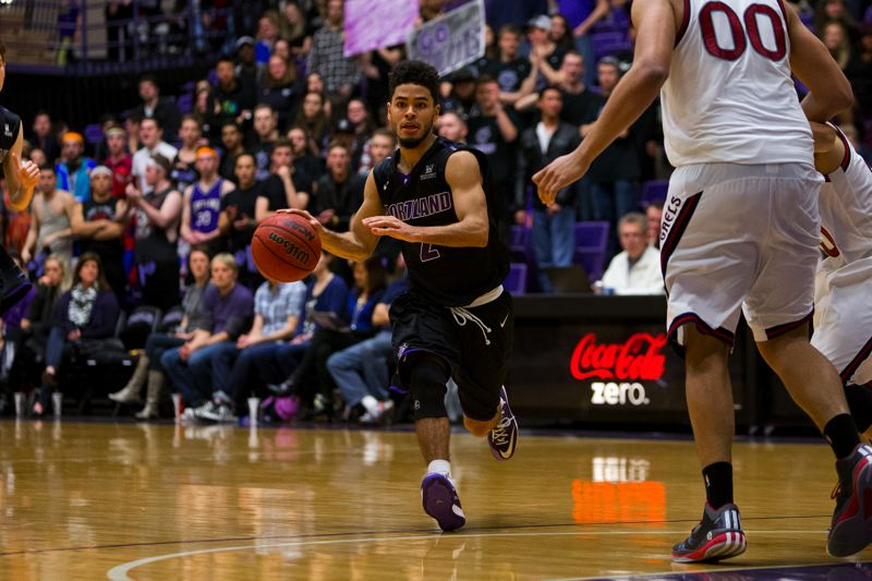 COURTESY: UNIVERSITY OF PORTLAND - Junior point guard Alec Wintering leads the Portland Pilots.