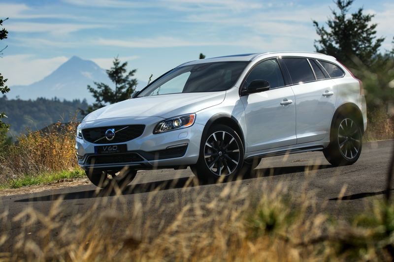 Volvo v60 cross country is ready for the forest service roads of the