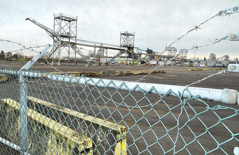 GARY ALLEN - Quiet - Activity at the WestRock paper mill in Newberg has nearly ground to a halt as the fate of the aging facility remains to be seen.