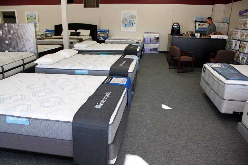 POST PHOTO: KYLIE WRAY - The Sandy location of Mattress World Northwest offers all mattress sizes and can have custom mattress created by a local mattress company.