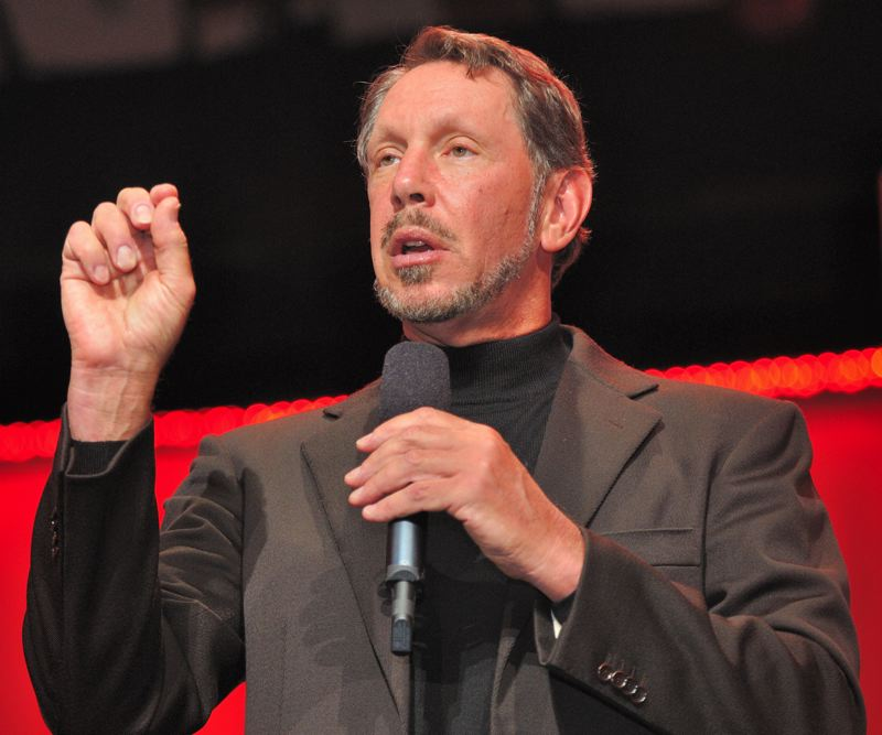 COURTESY: WIKIPEDIA/ORACLE - Oracle co-founder and Executive Chairman and Chief Technology Officer Larry Ellison asked for daily reports on the progress of Cover Oregon beginning in November, 2013.