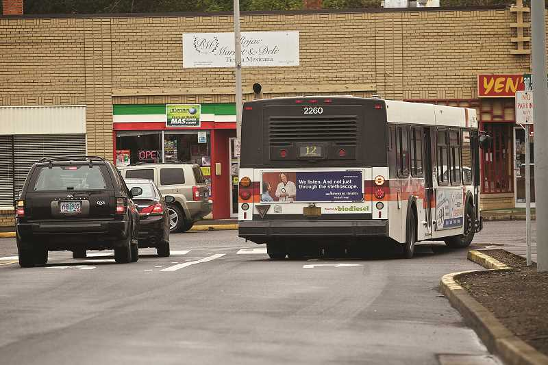 TIMES FILE PHOTO - Tigard buses will see a few new additional buses starting next month, with earlier and later stops on several local lines.