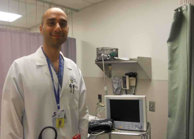 TRIBUNE PHOTO: SCOTT KEITH - Dr. Jay Shah is a cardiologist with The Portland Clinic, downtown.