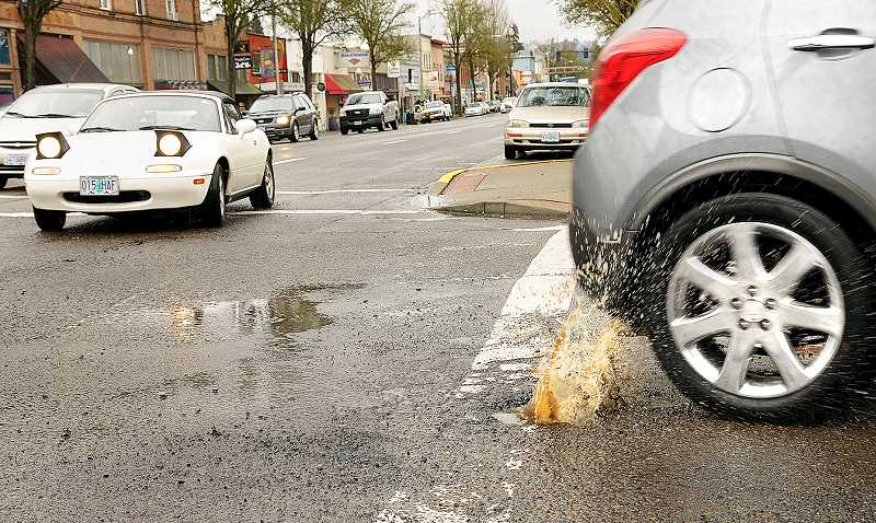 GARY ALLEN - Many drivers are aware of the need to fix Newberg's dilapidated pavement system, but the question is how to fund it. The city is looking into a street fee to help maintain current pavement conditions.