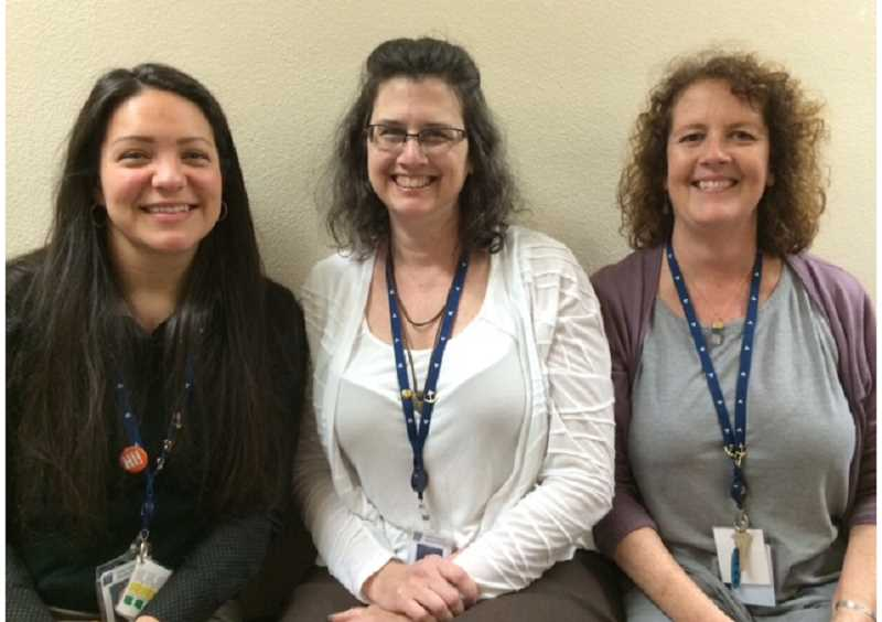SUBMITTED PHOTO - LOJ counselors, from left, Carrie Trulliger, Suzanne Schmidt and Molly Healy are putting together the Sailor Strong program.
