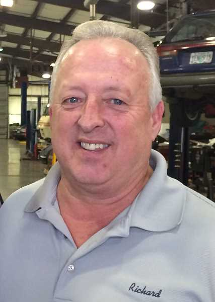 Richard Edmonds, co-owner of Woodburn Automotive Repair