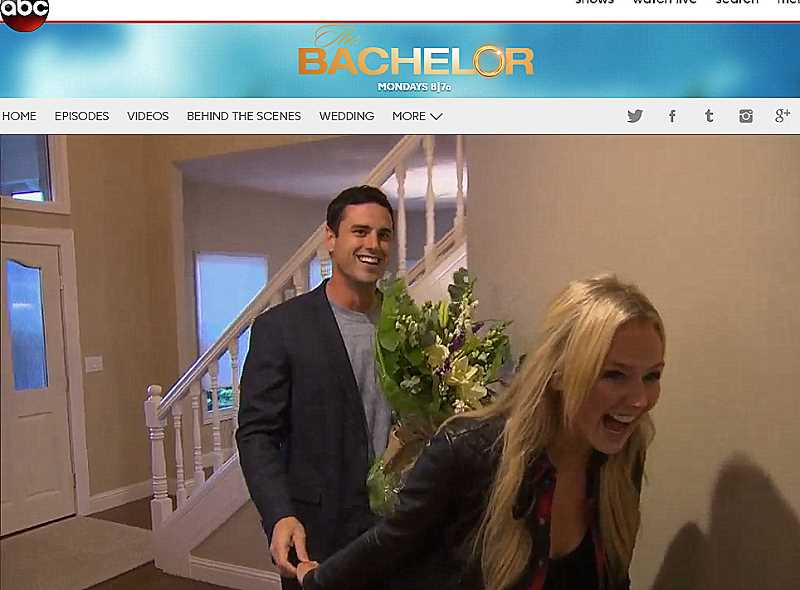ABC VIDEO - West Linn native Lauren Bushnell brings the Bachelor home to her parents in Episode 8 of the hit reality show 'The Bachelor.'