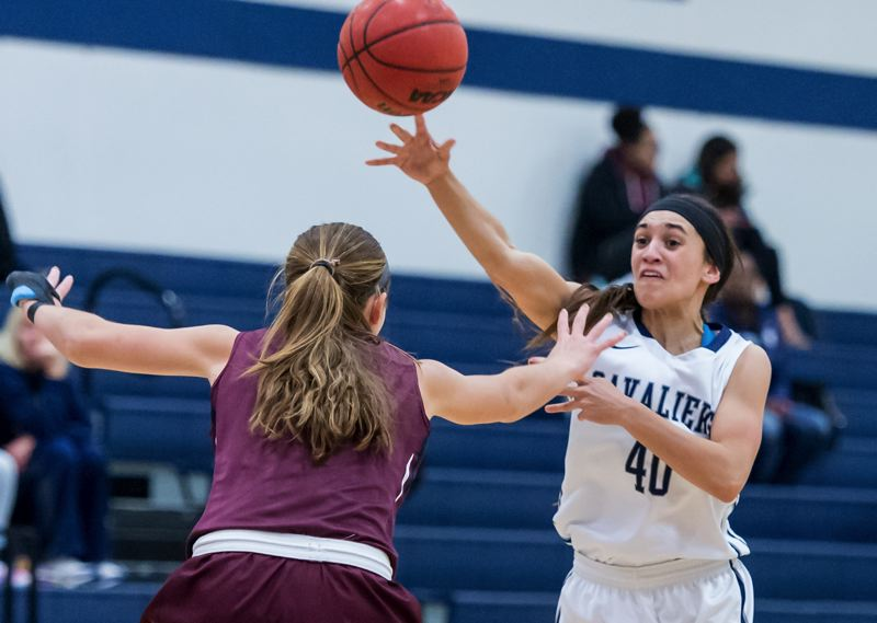 COURTESY: CHRISTOPHER OERTELL - Concordia guard Keesha Sarman passes the ball during Thursday's home game against Seattle Pacific.
