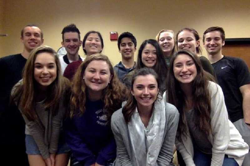 SUBMITTED PHOTO - Lake Oswego High School earned a place at the state finals of Mock Trial. The winning team at state will represent Oregon in nationals in May in Boise.
