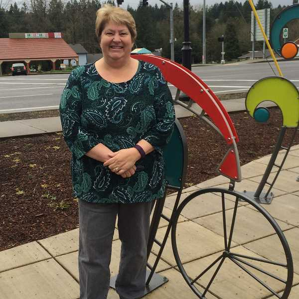 ESTACADA NEWS PHOTO: EMILY LINDSTRAND - City manager Denise Carey is one of eight Estacada participants in the Biggest Loser Communiy challenge.