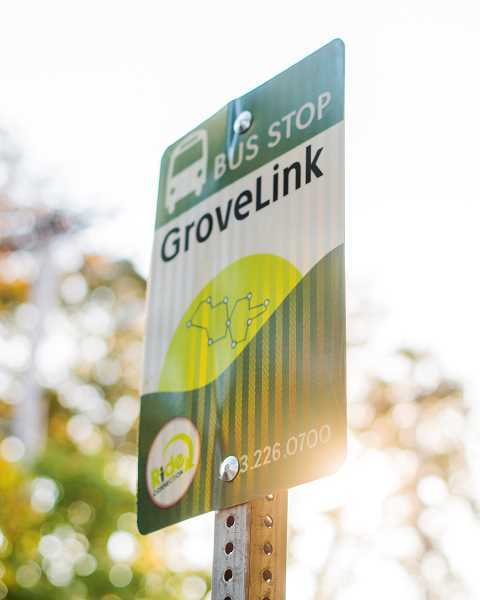 NEWS-TIMES FILE PHOTO - GroveLink, Forest Groves local transit service, attracts riders who use it to go shopping, to health care appointments, for recreational purposes and to connect with TriMet.