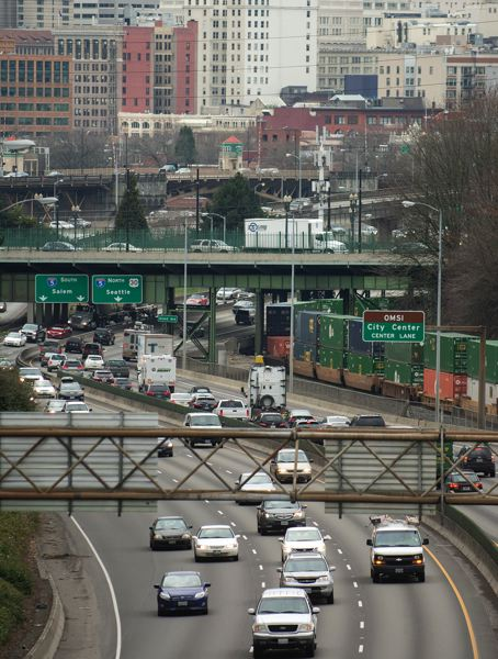 PORTLAND TRIBUNE FILE PHOTO - Recent studies confirm Portland's traffic is bad and getting worse.