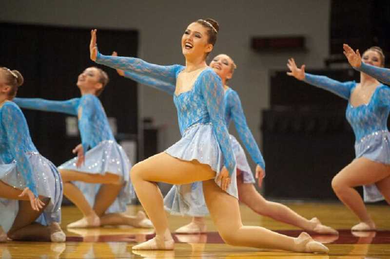 PAMPLIN MEDIA GROUP PHOTO: JOSH KULLA - With a 3.82 average GPA, Lakeridge dancers had the best grades among all the 6A dance teams. Camille Feinstein was named to the All-State Team.