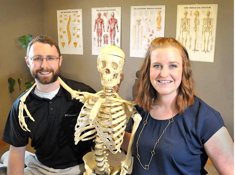 GARY ALLEN - It's been a time of change for Newberg chiropractor Heidi Tornberg, who recently changed her business name from Janosek Chiropractic to Kismet Chiropractic, moved into a larger space  and added Danny MacKay as a second chiropractor at the clinic.