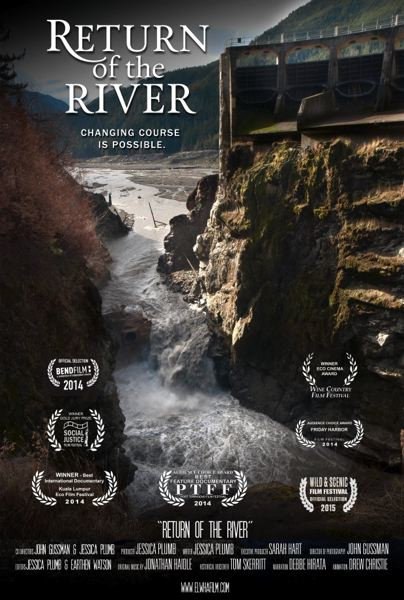 SUBMITTED PHOTO - 'Return of the River,' a film about the removal of the Elwha Dam in Washington state, is the headliner for the family-friendly watershed event on April 23.