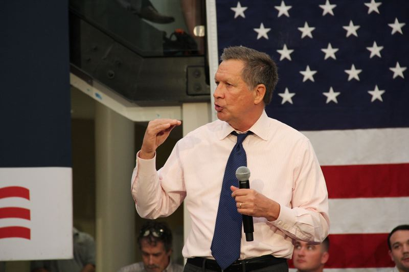 COURTESY PHOTO: KASICH CAMPAIGN - Republican presidential candidate Ohio Gov. John Kasich will be at a Portland rally Thursday, April 28.