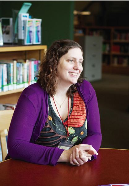 TIMES FILE PHOTO - Tigard teen services librarian Lisa Elliott said she wanted to hold an event on May 4, celebrated as 'Star Wars Day,' because of the franchise's mass appeal.