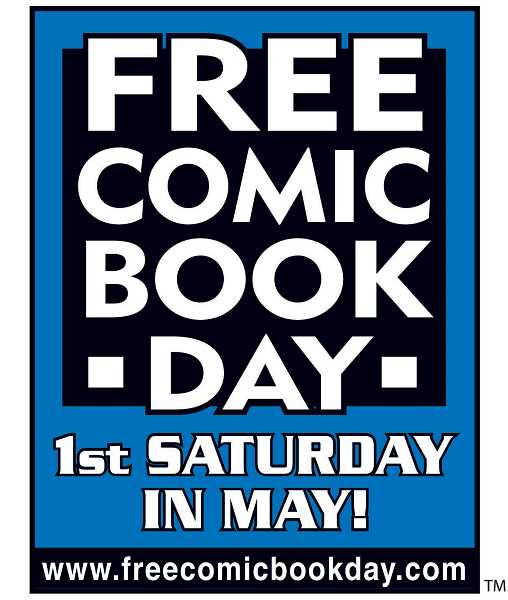SUBMITTED POSTER - Attend Free Comic Book Day at the West Linn Library May 1.