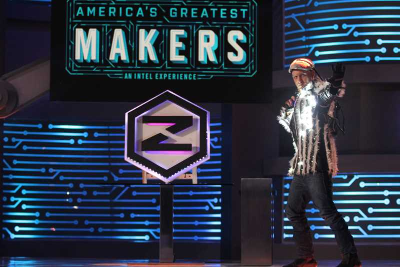 SUBMITTED PHOTO: ZACH VORHIES - After originally auditioning for Shark Tank, Zach Vorhies was selected to appear on a new show, 'America's Greatest Makers.' The show debuted April 5 and follows teams of inventors competing for a $1 million prize.