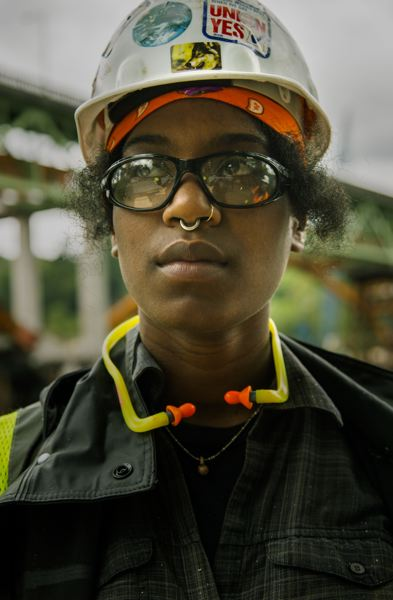 SUBMITTED: DAWN JONES REDSTONE - Sidony ONeal stars as Laneice in Sista in the Brotherhood, an award-winning short film about a black tradeswoman facing discrimination in the skilled trade industry.