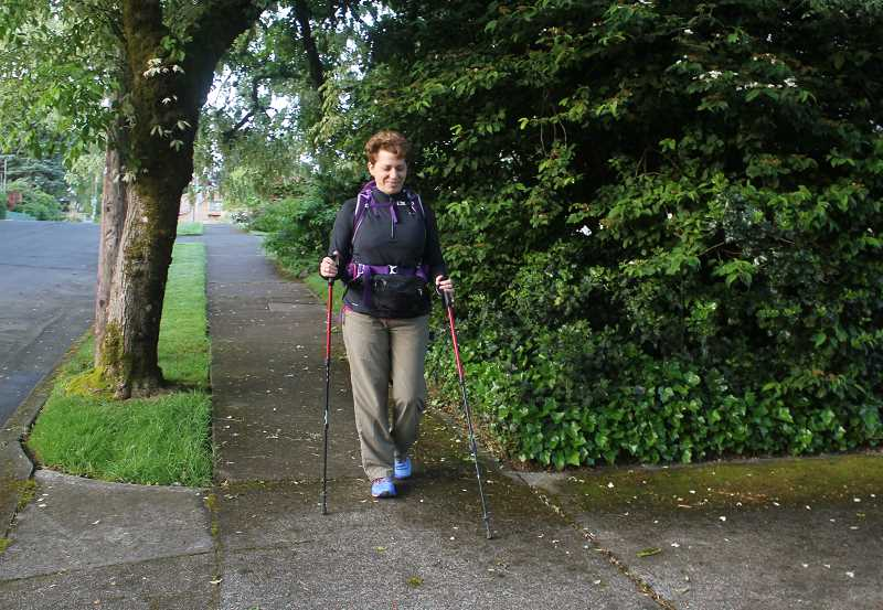 CONNECTION PHOTO: KELSEY O'HALLORAN - To celebrate her 60th birthday, Shani Fox plans to walk the 490-mile Camino de Santiago, an ancient pilgrimage through France and northern Spain