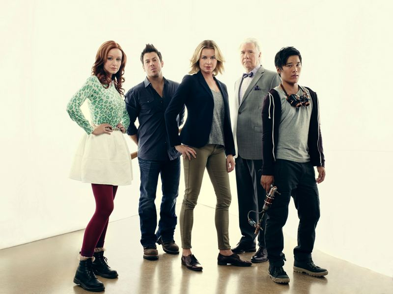 COURTESY: TNT - 'The Librarians' is filmed in the Portland area and beyond, currently for its third season. Says producer Dean Devlin: 'It's literally the most fun I've ever had.'