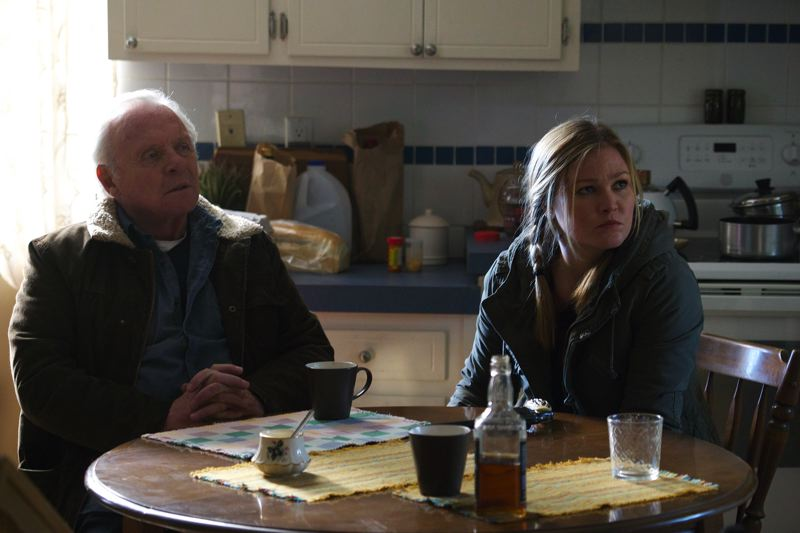COURTESY: ELECTRIC ENTERTAINMENT - Anthony Hopkins and Julia Stiles are part of the all-star cast in 'Blackway,' supported by Dean Devlin's Electric Entertainment.