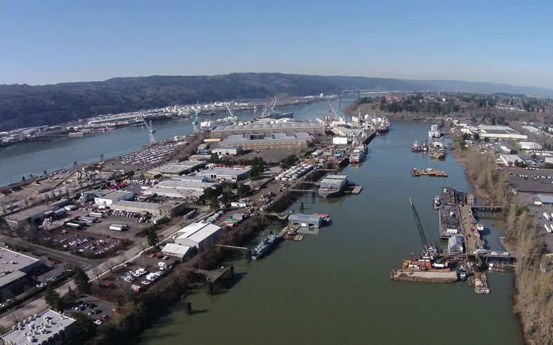 PHOTO  COURTESY WILLAMETTE RIVERKEEPER - EPA proposed a plan to finally clean up a 10-mile polluted stretch of the Willamette River on Wednesday, in one of the most complex projects ever done under the Superfund program.