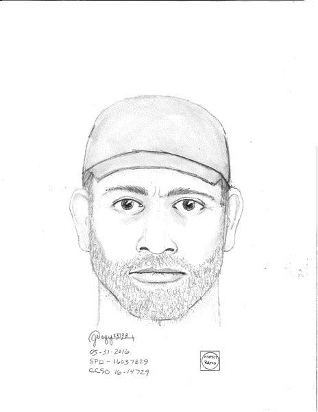 COURTESY OF THE ST. HELENS POLICE DEPARTMENT - This composite sketch of the suspect involved in the burglary was released Thurday afternoon, June 2, by the St. Helens Police Department.