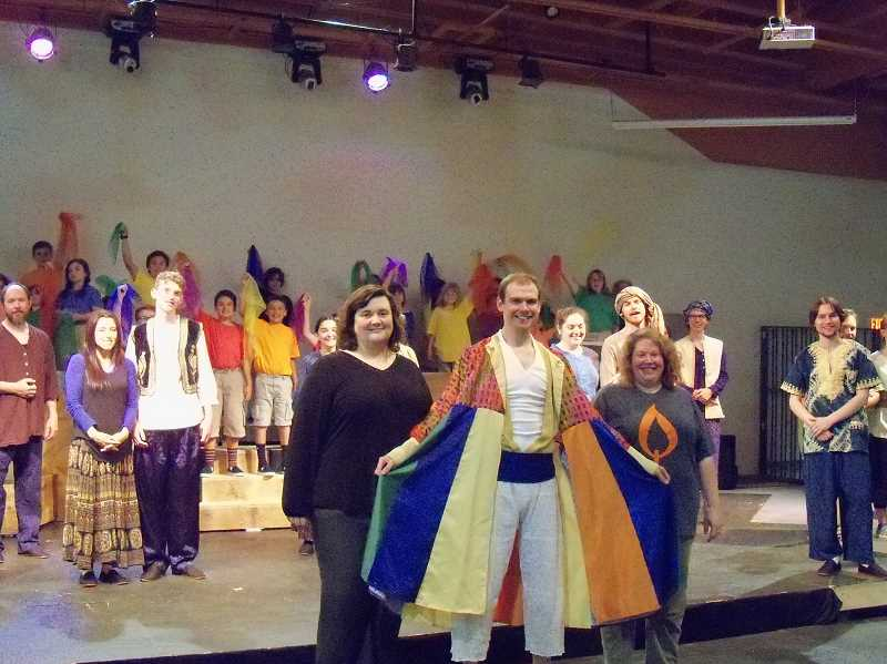 CONTRIBUTED PHOTO BY LISA CADUNGUG - Corbett Children's Theater presents of the most popular Broadway musicals ever produced, 'Joseph and the Amazing Technicolor Dreamcoat,' which debuts June 16.