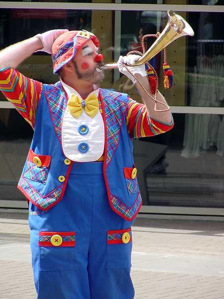 COURTESY PHOTO - Bret Christie, the man behind BJ the Clown, will come back to Forest Grove Library on June 21 at 10:15 a.m. to perform a high energy variety show featuring magic, comedy and more.