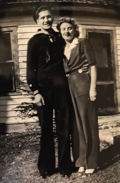 CONTRIBUTED PHOTO - Lorna Elberson married her husband Bud on May 23, 1941. They were married for 75 years and raised three children.
