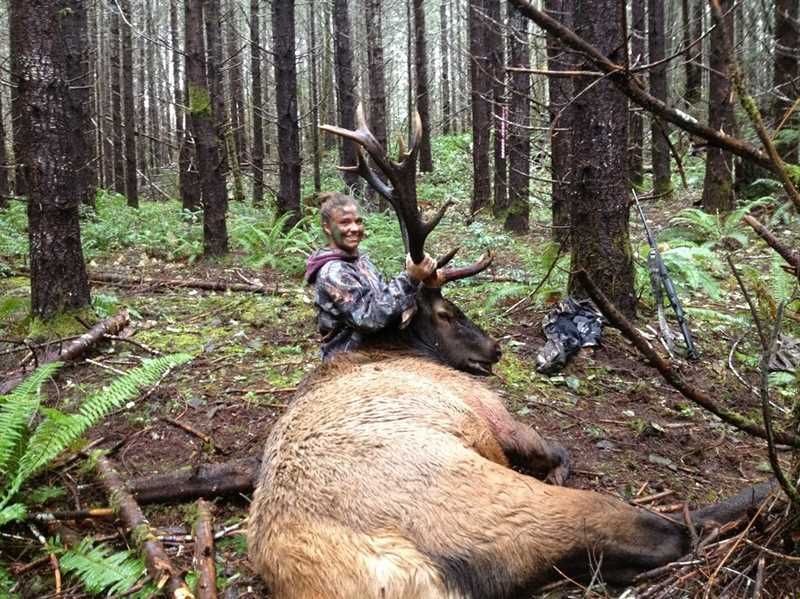 COURTESY PHOTOS - Mikaela Gates of Banks displays her trophy from a hunt last season.