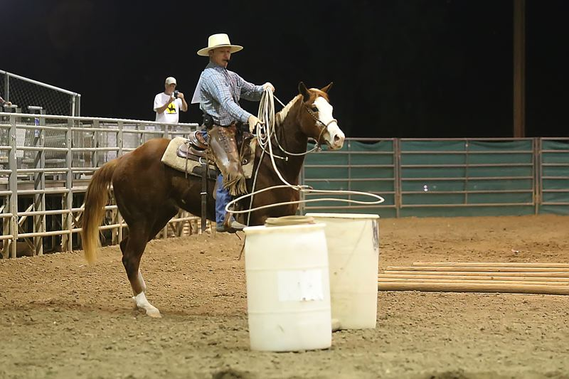COURTESY PHOTO - The Colt Starting Challenge USA horse training tour be held at the G Bar G Covered Arena in Sandy, 22060 S.E. 442nd Ave., from 6-9 p.m. Friday and Saturday, Aug. 12-13.