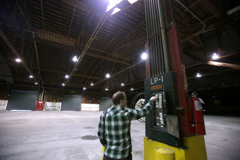 PORTLAND TRIBUNE: JONATHAN HOUSE - A majority of the City Council supports using this 96,000 square foot warehouse at Terminal 1 for a homeless shelter.