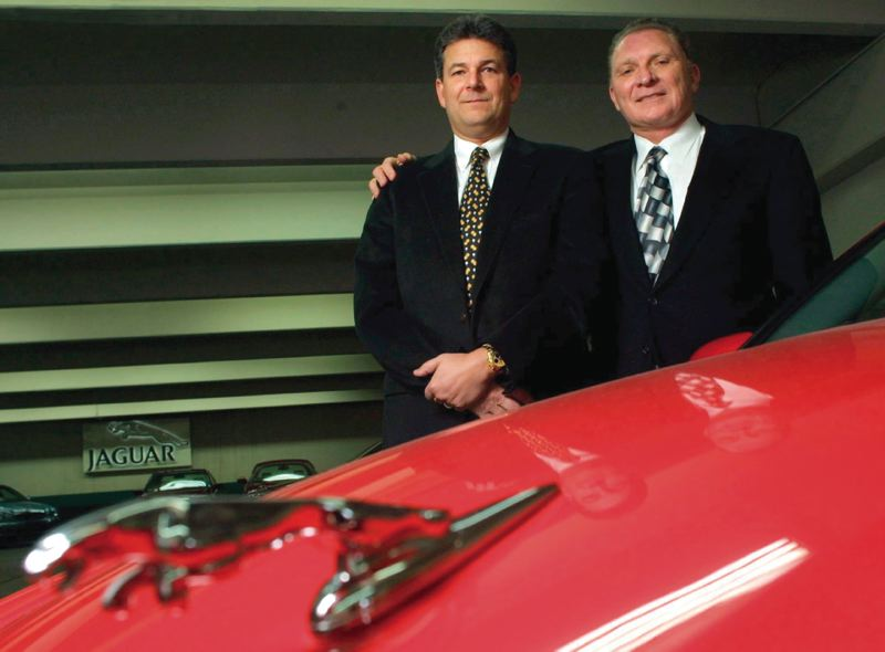 Delightful TRIBUNE FILE PHOTO   Monte Shelton (right), With His Son Neil, Have Been  Running Monte Shelton Motor Company For More Than 40 Years.