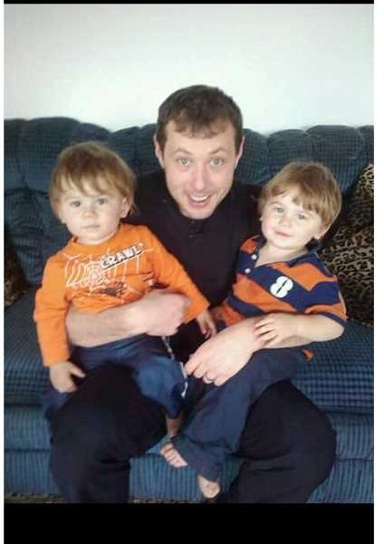PHOTO COURTESY OF CLAYTON KAMMER - Clayton Kammer, shown here with Gavin and Taylor when the boys were younger, said his kids had traumatic experiences in foster care before regaining healthy behavior with him. The boys have since been adopted by Kammer.