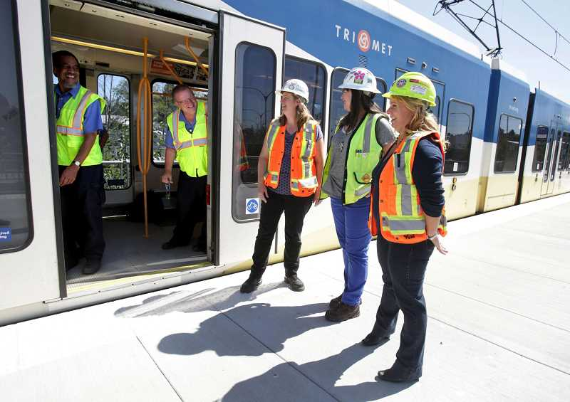 TRIBUNE FILE PHOTO - Construction on a MAX light rail line in Portland will have a ripple effect across Washington County, causing major disruptions to MAX riders in Hillsboro headed into the Rose City.