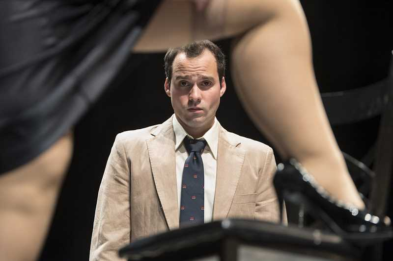 COURTESY: CASEY CAMPBELL PHOTOGRAPHY - Eric St. Cyr plays Benjamin Braddock in Bag&Baggage's production of 'The Graduate.'