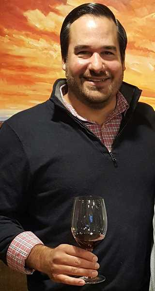 SUBMITTED PHOTO  - Andres Martinez invites all to attend a special tasting of Italian wines at Oregon Wine Reserve Sept. 20.