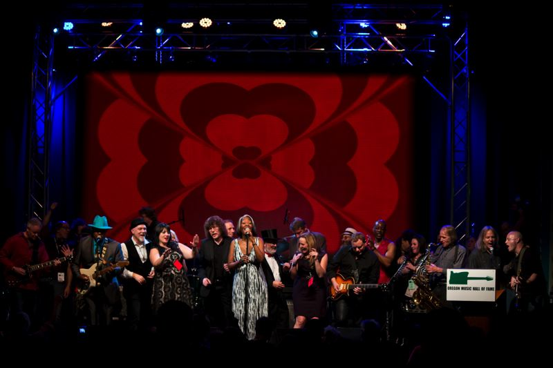 COURTESY: OMHOF - It's the Oregon Music Hall of Fame induction ceremony from 2015.