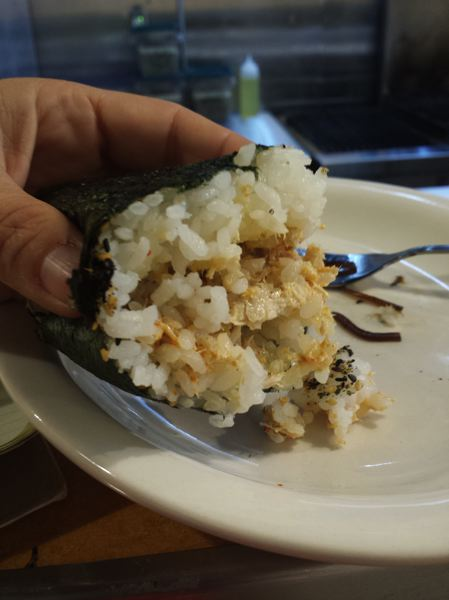TRIBUNE PHOTO: JENNIFER ANDERSON - New Japanese-Hawaiian rice ball shop Musubi uses high-grade rice and scratch-made fillings with local ingredients, including artisanal spam.