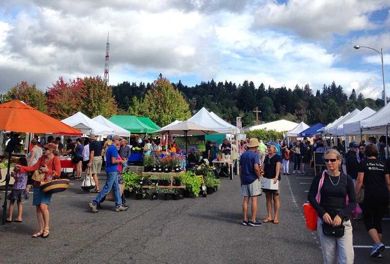 PHOTO COURTESY OF SARAH WEST - Shoppers can find fresh and flavorful local produce at a great value at Hillsdale Farmers Market, says columnist Gerogina Young-Ellis.