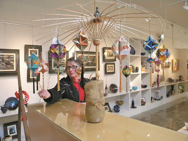 NEWS-TIMES/HILLSBORO TRIBUNE FILE PHOTO - The annual week-long Valley Art Artist Event celebrates the gallery's 50 years with the theme of 'Golden Artistry.'