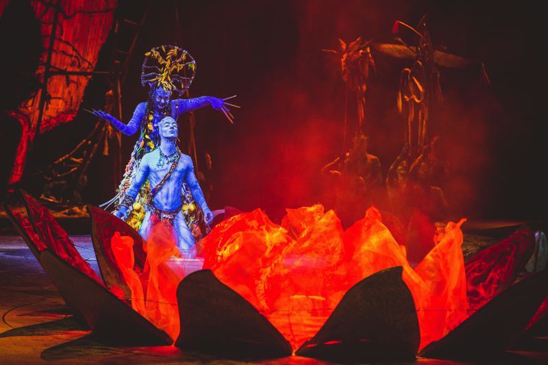 COURTESY: JESSE FAATZ - Cirque du Soleil's 'Toruk, The First Flight,' set to stage at Moda Center Dec. 7-11, tells the story of the legend of the Toruk, and serves as a prequel to the movie 'Avatar.'