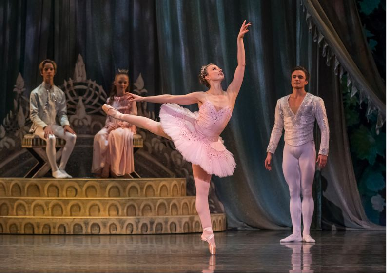 COURTESY: BLAINE TRUITT COVERT - Candace Bouchard plays Sugar Plum Fairy, as Peter Franc as Cavalier stands by, in last season's 'The Nutcracker.' Bouchard has played each of the adult woman roles in 'The Nutcracker.'