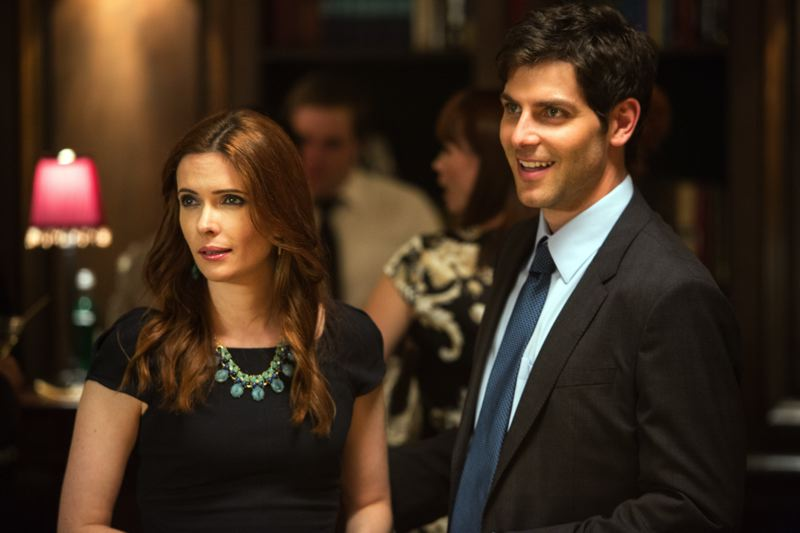 COURTESY: NBC UNIVERSAL - 'Grimm' stars David Giuntoli (Nick Burkhardt) and Bitsie Tulloch (Juliette/Eve), who are engaged, plan to live in Portland after the end of the show.